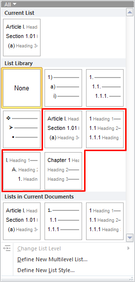 Word Tips How To Set Up Numbered Headings Knowledgedoc